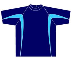 All-Seasons-Sports-t-shirt-training-top-blue