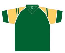 All-Seasons-Sports-t-shirt-training-top-green-yellow