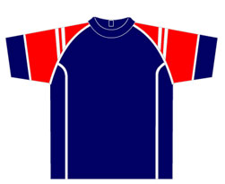 All-Seasons-Sports-t-shirt-training-top-red-blue