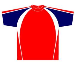 All-Seasons-Sports-t-shirt-training-top-red