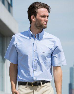 all-seasons-sport-henbury-short-sleeved-classic-oxford-shirt