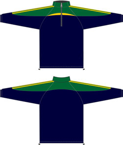 All-Seasons-Sports-Training-Top-navy-green-gold
